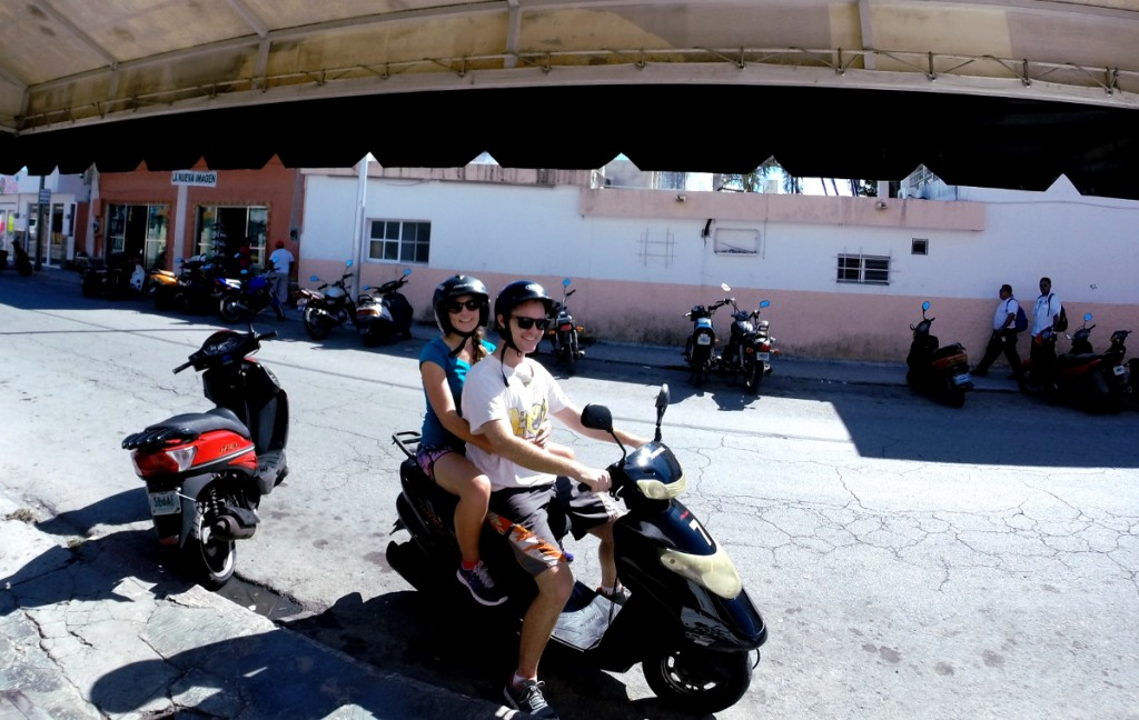 Scooter Cozumel Double-Barrelled Travel