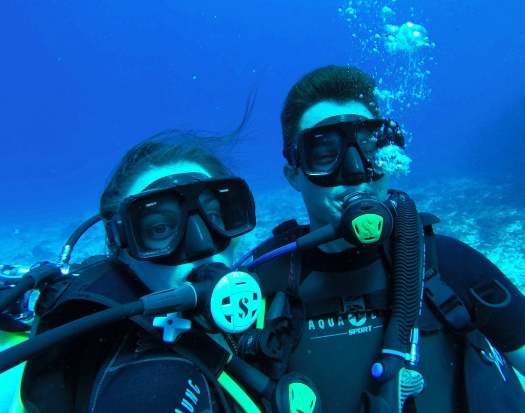 scuba diving Cozumel double-Barrelled Travel