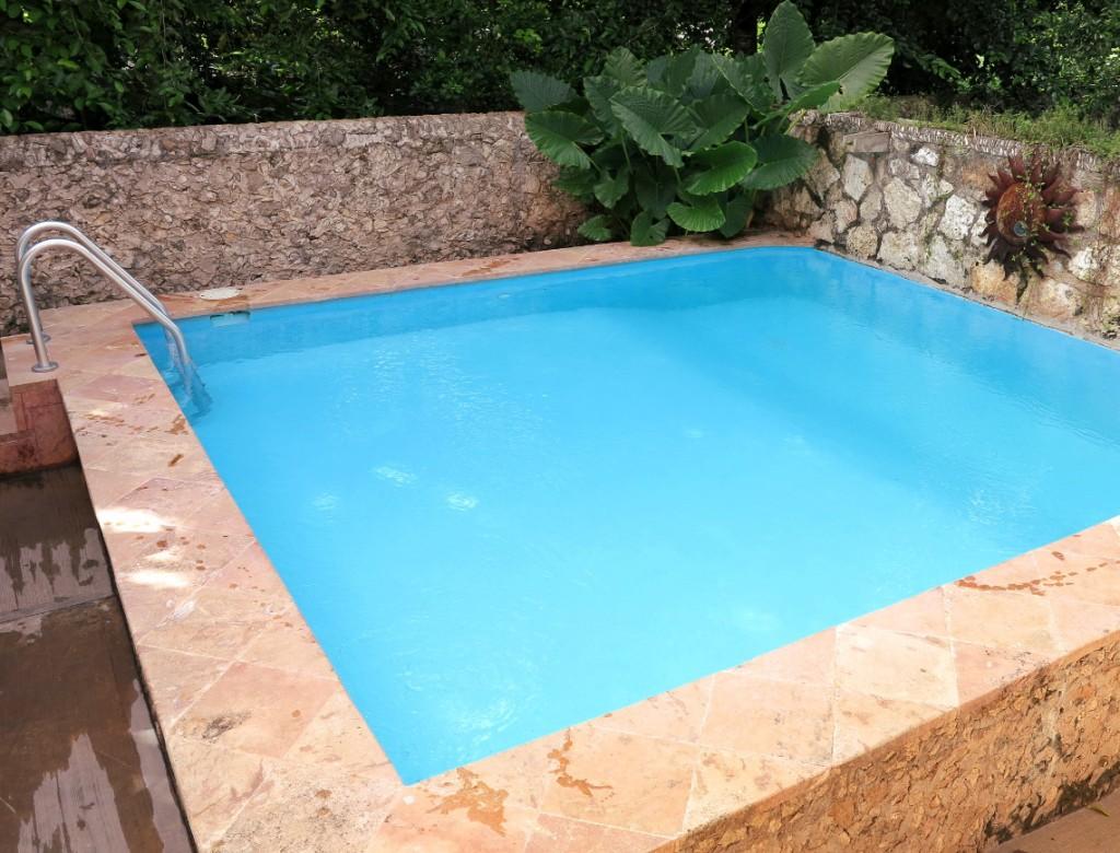 Swimming pool Casa Hamaca Double-Barrelled Travel