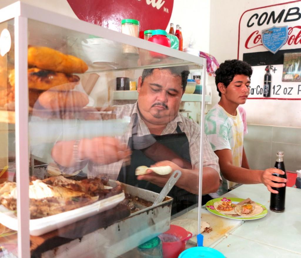 Tacos market Valladolid Double-Barrelled Travel