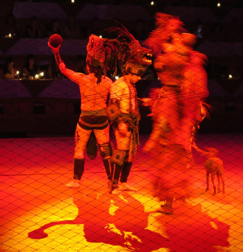 Xcaret Mexican Espectacular performance Double-Barrelled Travel