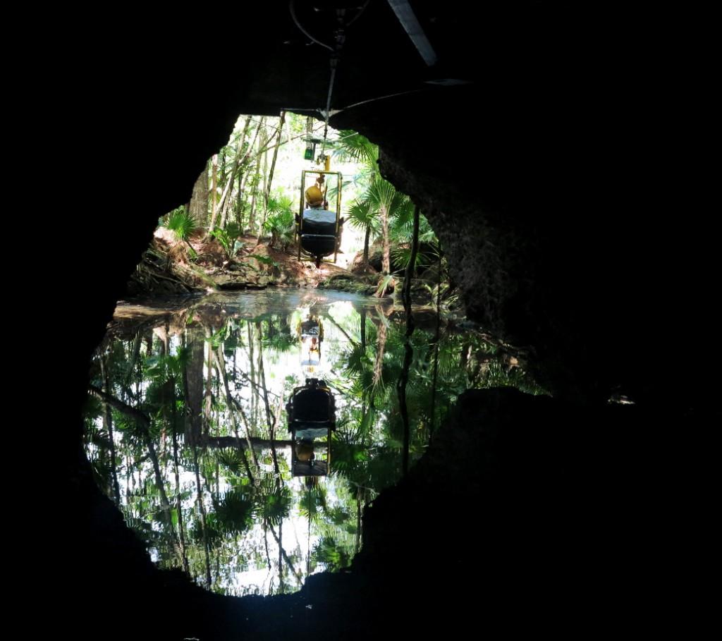 Xel-Ha bat cave Double-Barrelled Travel