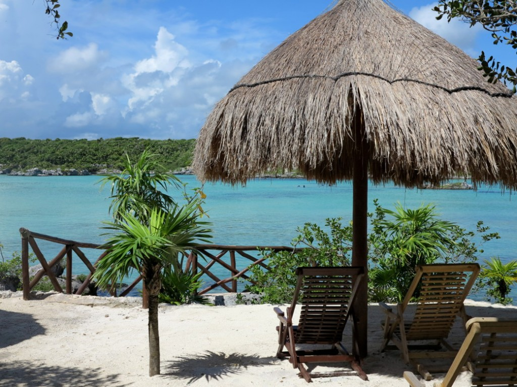 Xel-Ha beach Double-Barrelled Travel