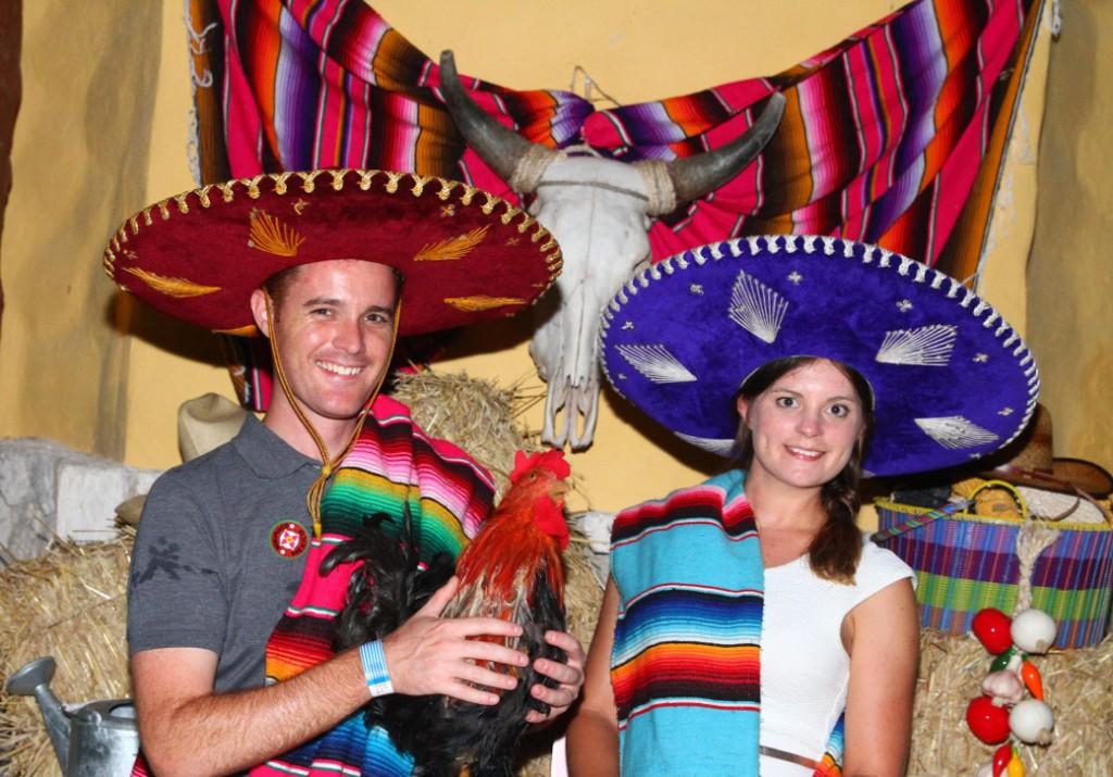 Xoximilco Mexican pose Double-Barrelled Travel