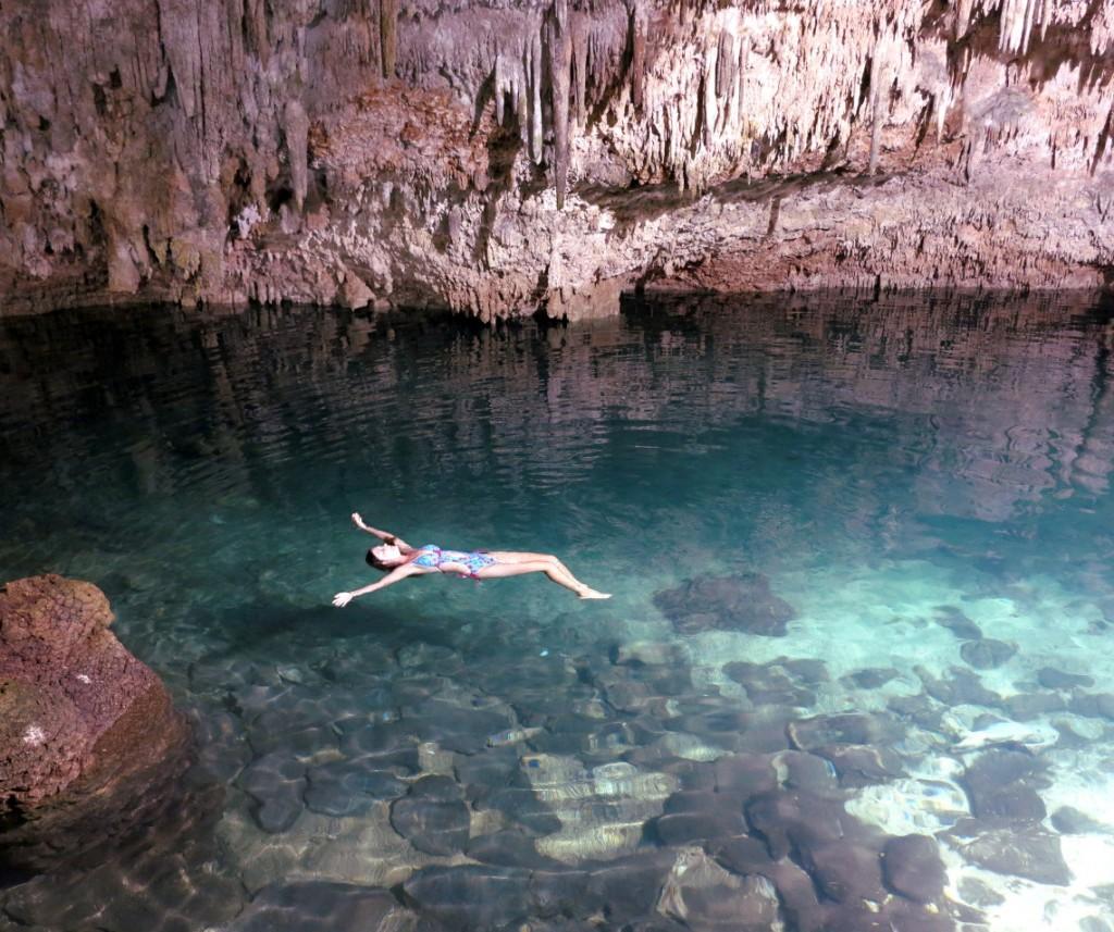 Yucatan Peninsula cenote Floating on air Double-Barrelled TravelYucatan Peninsula cenote Floating on air Double-Barrelled Travel