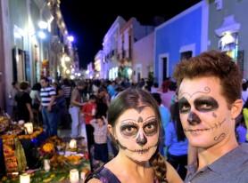 Celebrating Dia de los Muertos in Campeche