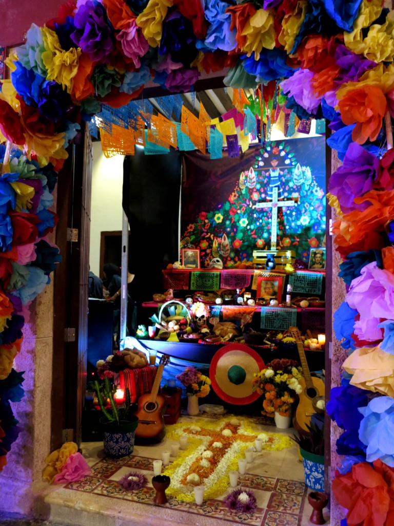 Campeche festival Mexico Day of the Dead - Double-Barrelled Travel