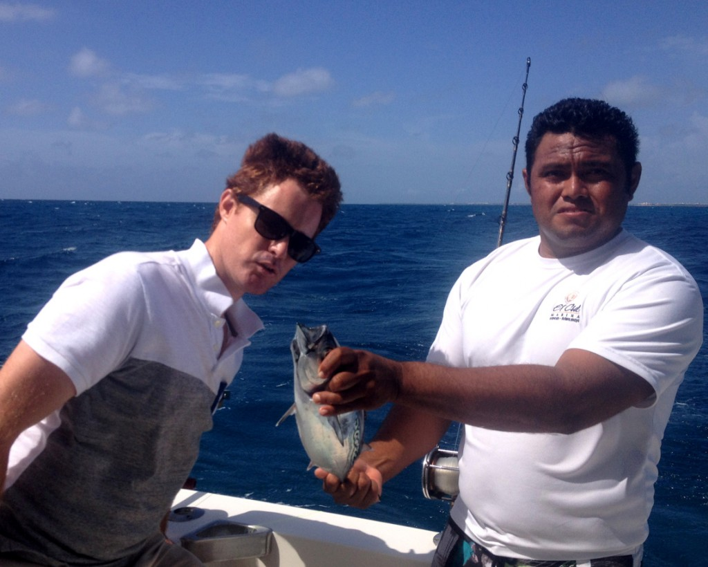 Cancun fishing Double-Barrelled Travel