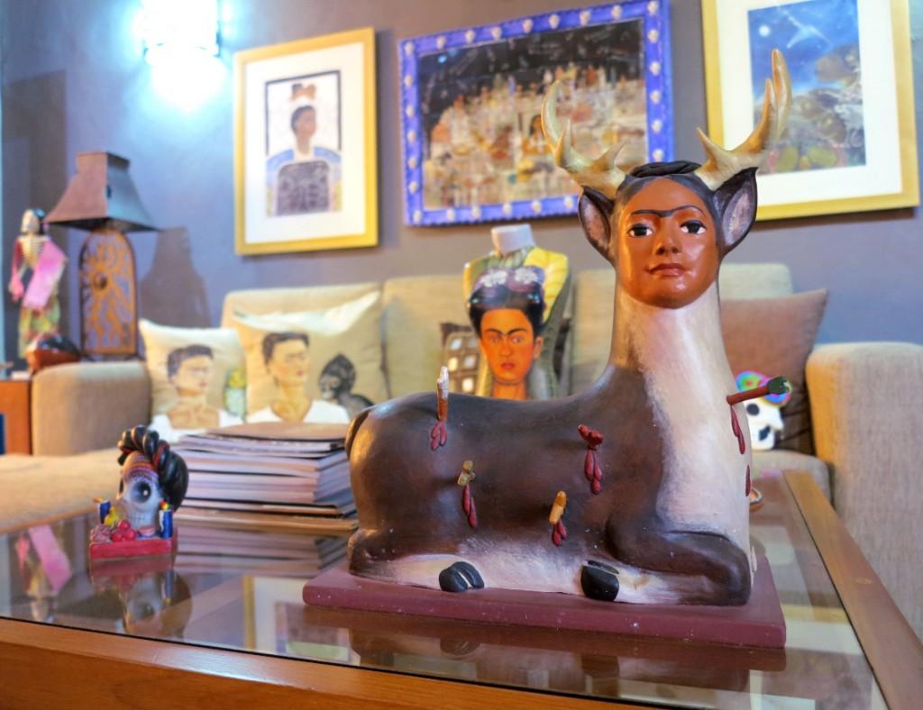 Casa de los Venados Frida Carhlo room Double-Barrelled Travel