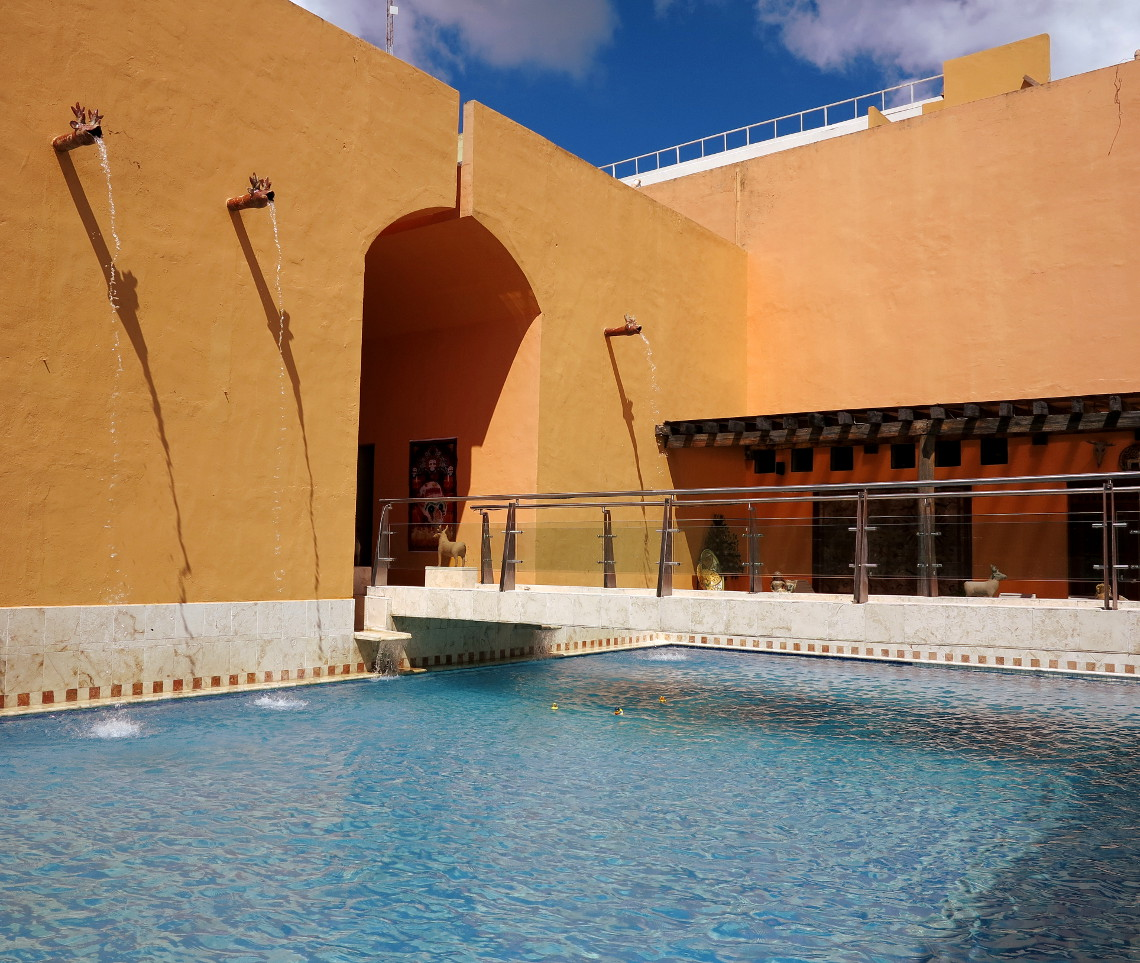 Casa de los Venados pool Double-Barrelled Travel