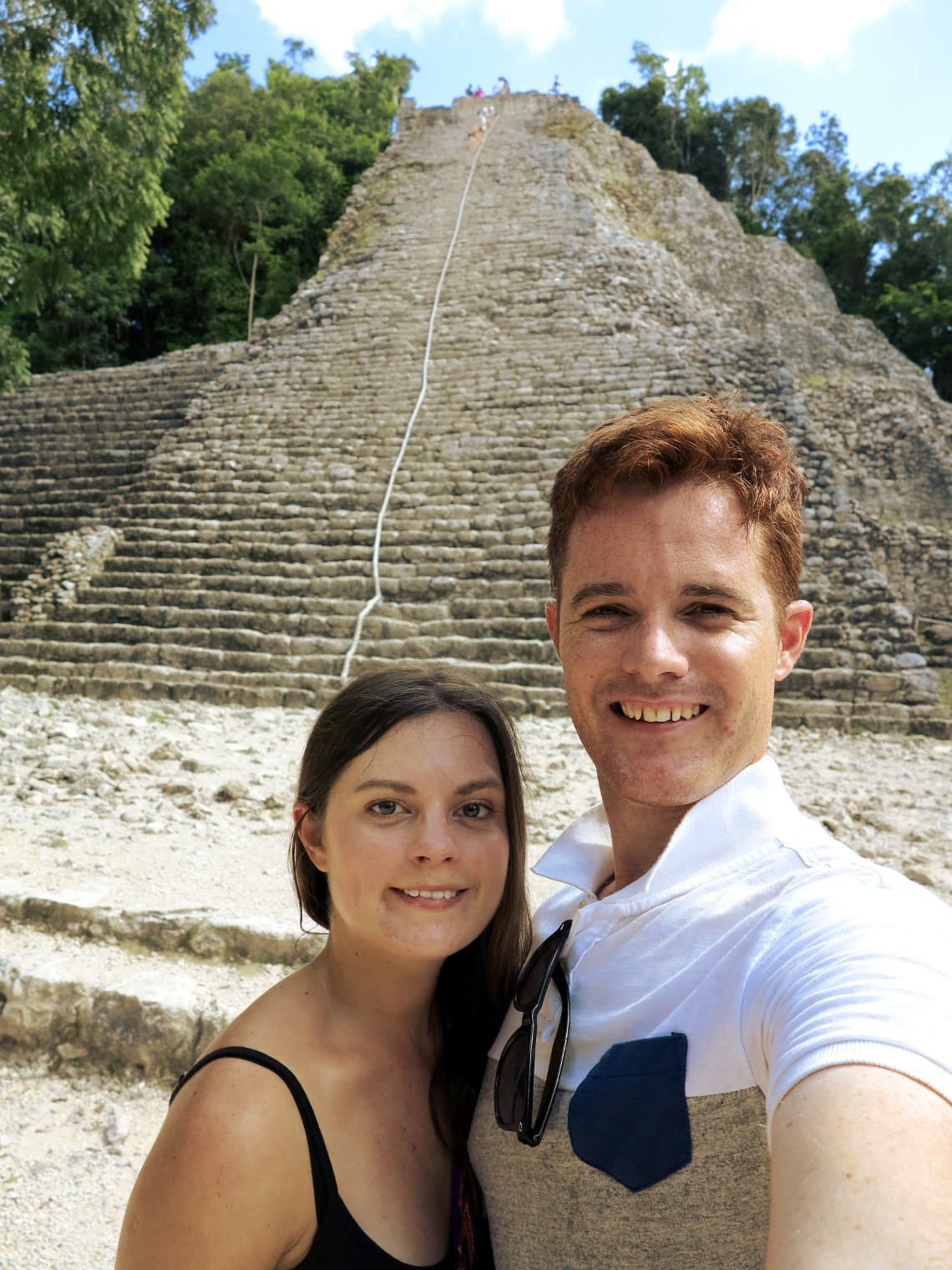 Coba pyramid Mexico Double-Barrelled Travel