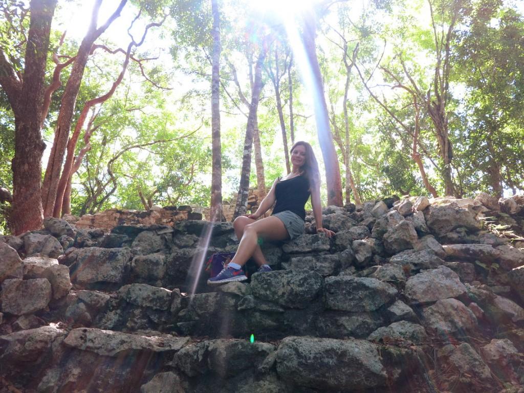 Coba ruins Mexico Double-Barrelled Travel