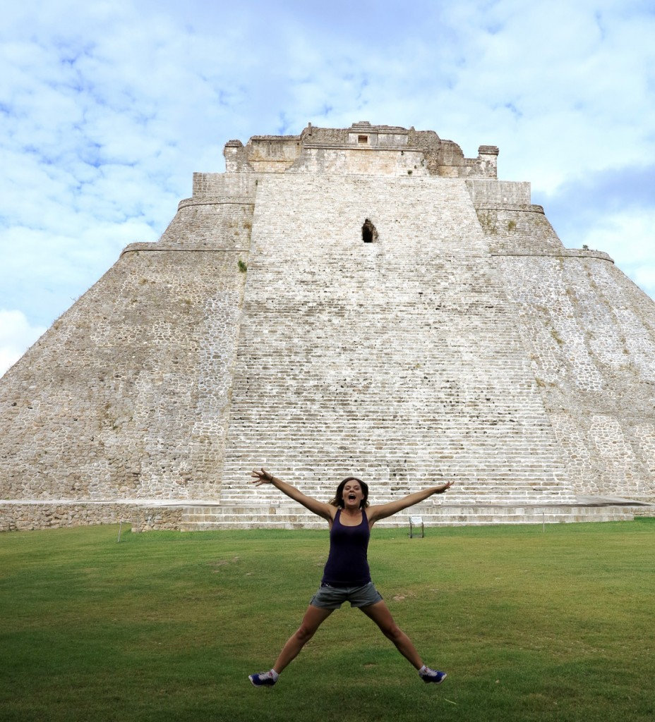 Mexican ruins Double-Barrelled Travel