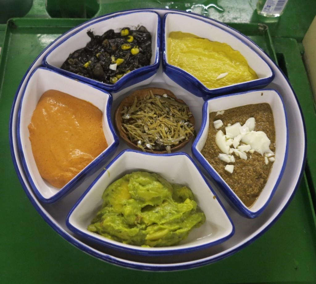 Mexican salsas Xoximilco Double-Barrelled Travel