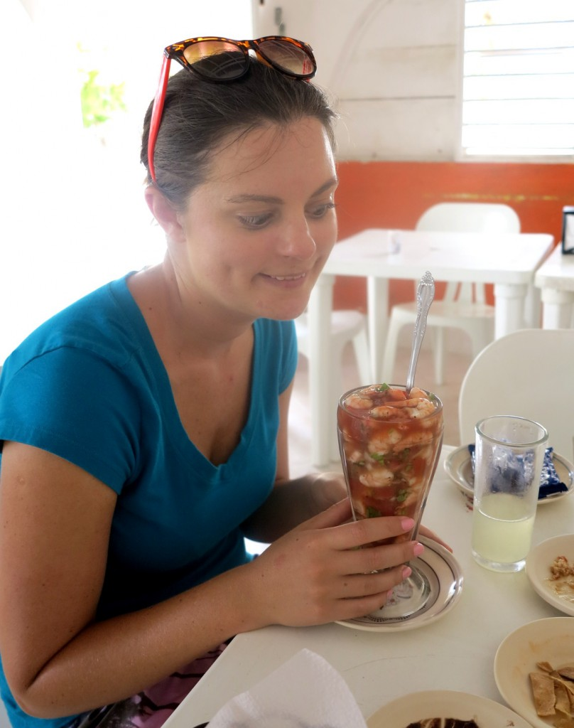 Prawn cocktail Mexico Double-Barrelled Travel