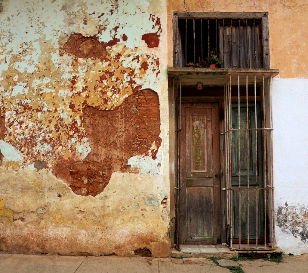 Street doorway Cuba Double-Barrelled Travel