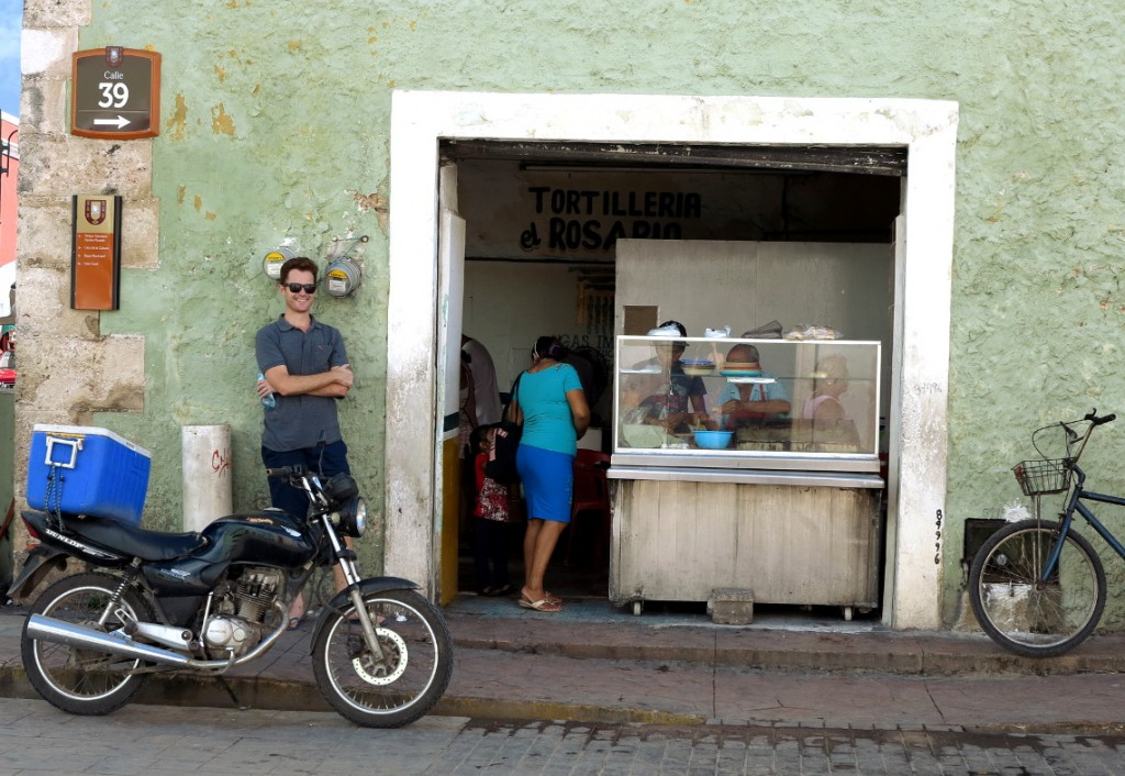Street food Valladolid Mexico Double-Barrelled Travel