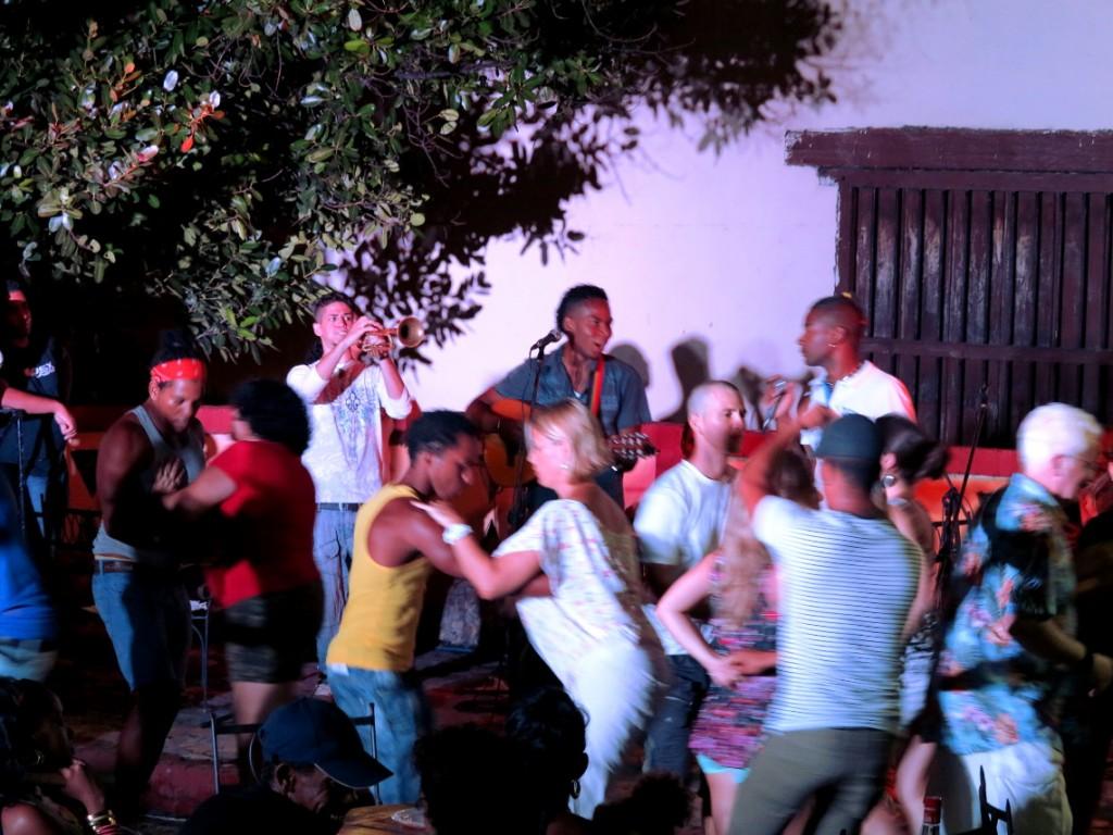 Street party Cuba Double-Barrelled Travel