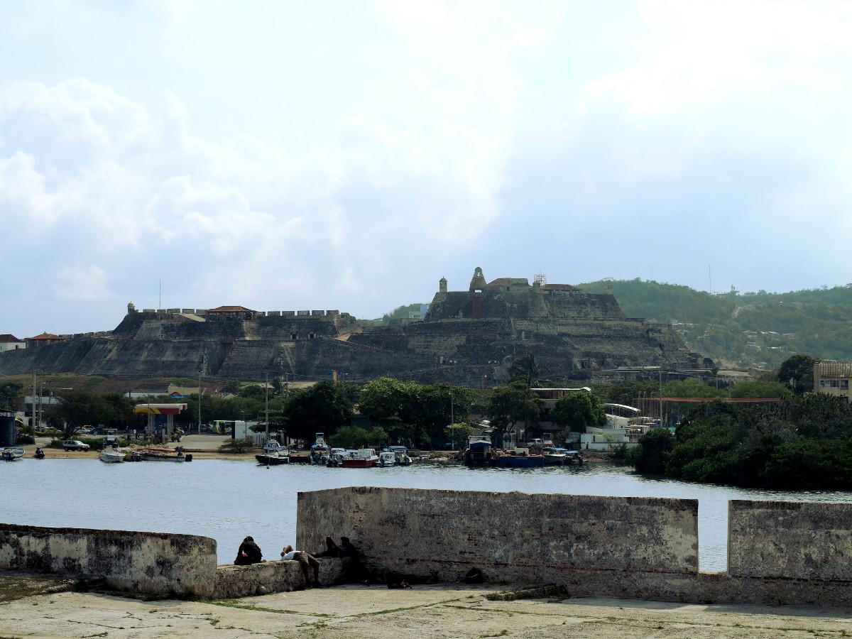 Cartagena Fort Castillo San Felipe de Barajas Colombia