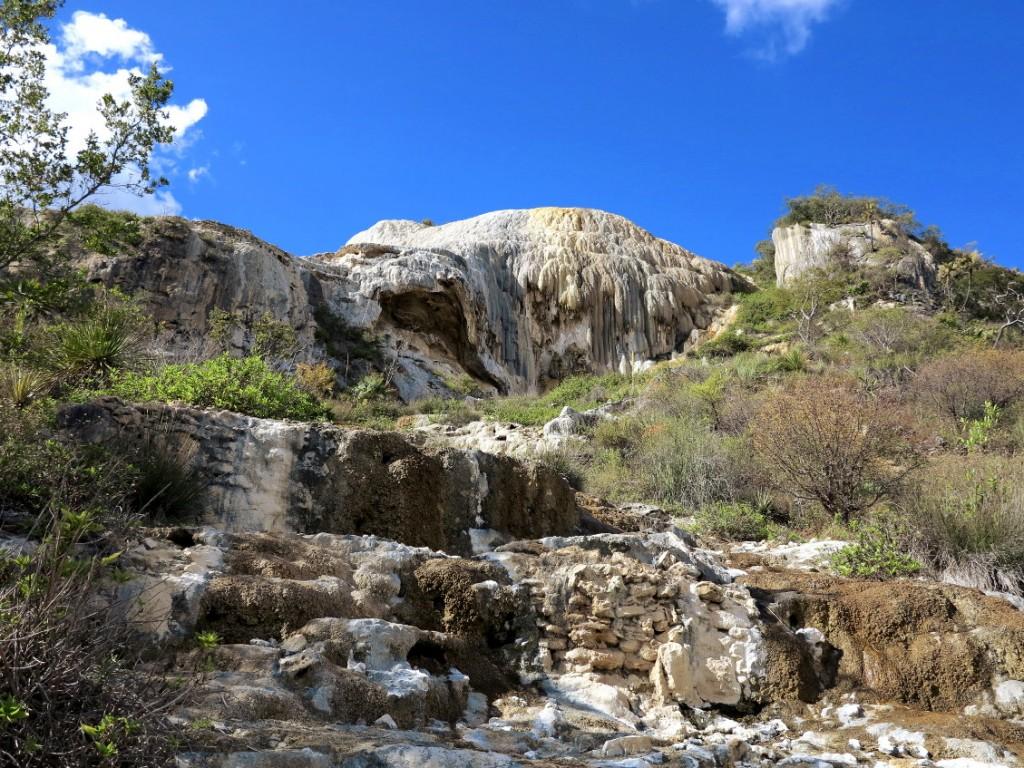 Hierve el agua Oaxaca petrified Double-Barrelled Travel