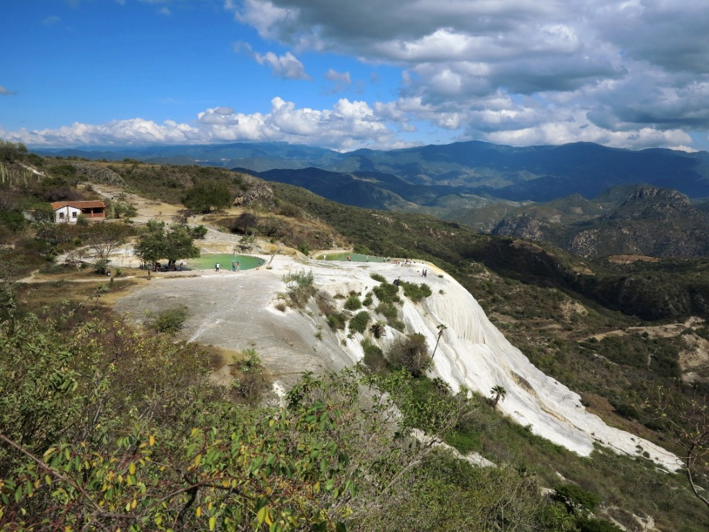 Hierve el agua pools Double-Barrelled Travel