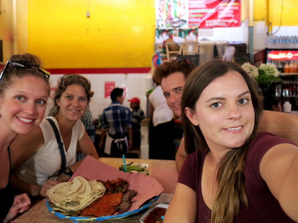 Market lunch in Oaxaca Double-Barrelled Travel