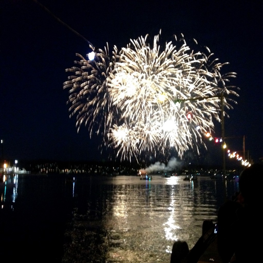 Hobart New Year's Eve fireworks Double-Barrelled Travel