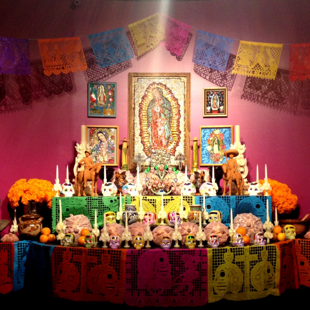 Mexican Day of the Dead altar Double-Barrelled Travel