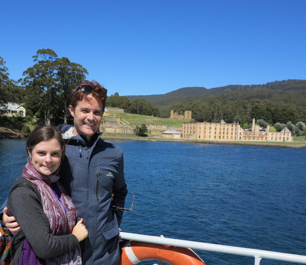 Port Arthur ferry Double-Barrelled Travel