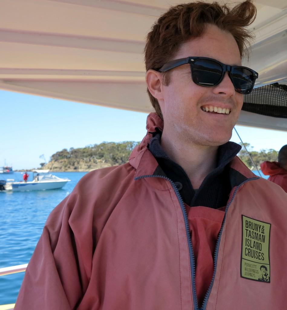 Tasman Island boat Tasmania Double-Barrelled Travel
