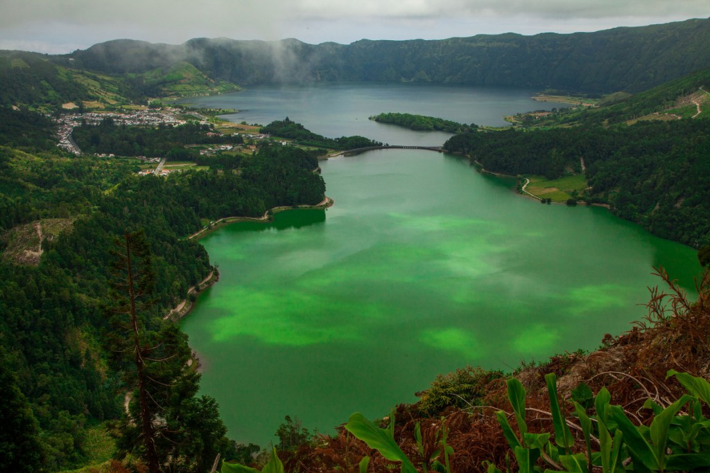 The Azores lakes Double-Barrelled Travel