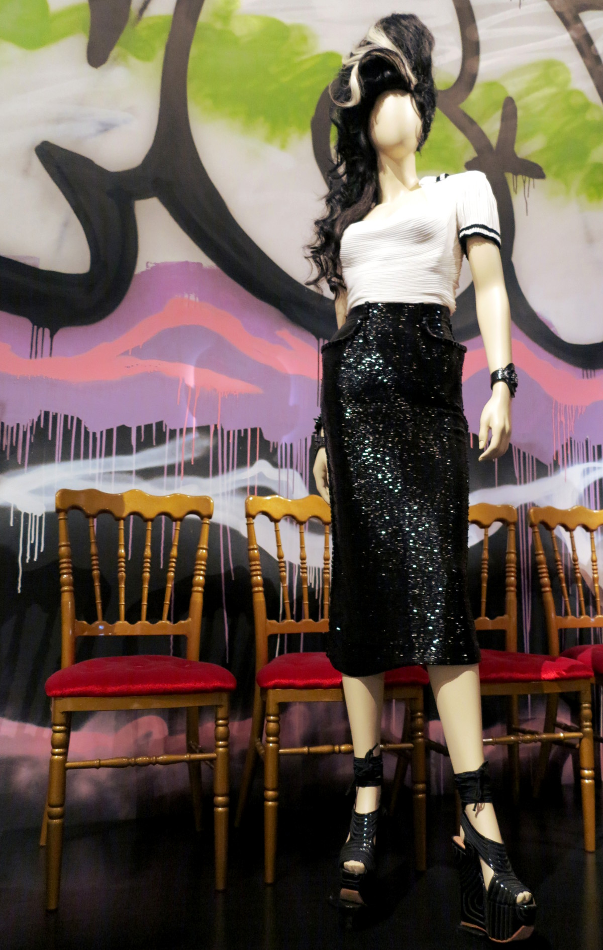 Amy Winehouse Jean Paul Gaultier National Gallery of Victoria