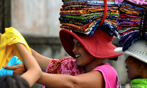 Balinese hawker Double-Barrelled Travel