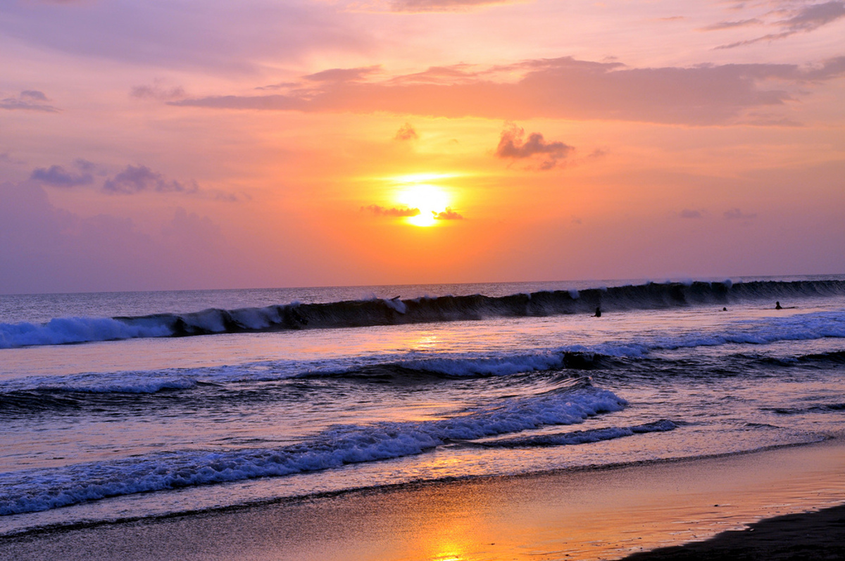 Balinese sunset Double-Barrelled Travel