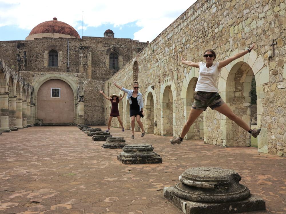 Church in Mexico Oaxaca Double-Barrelled Travel