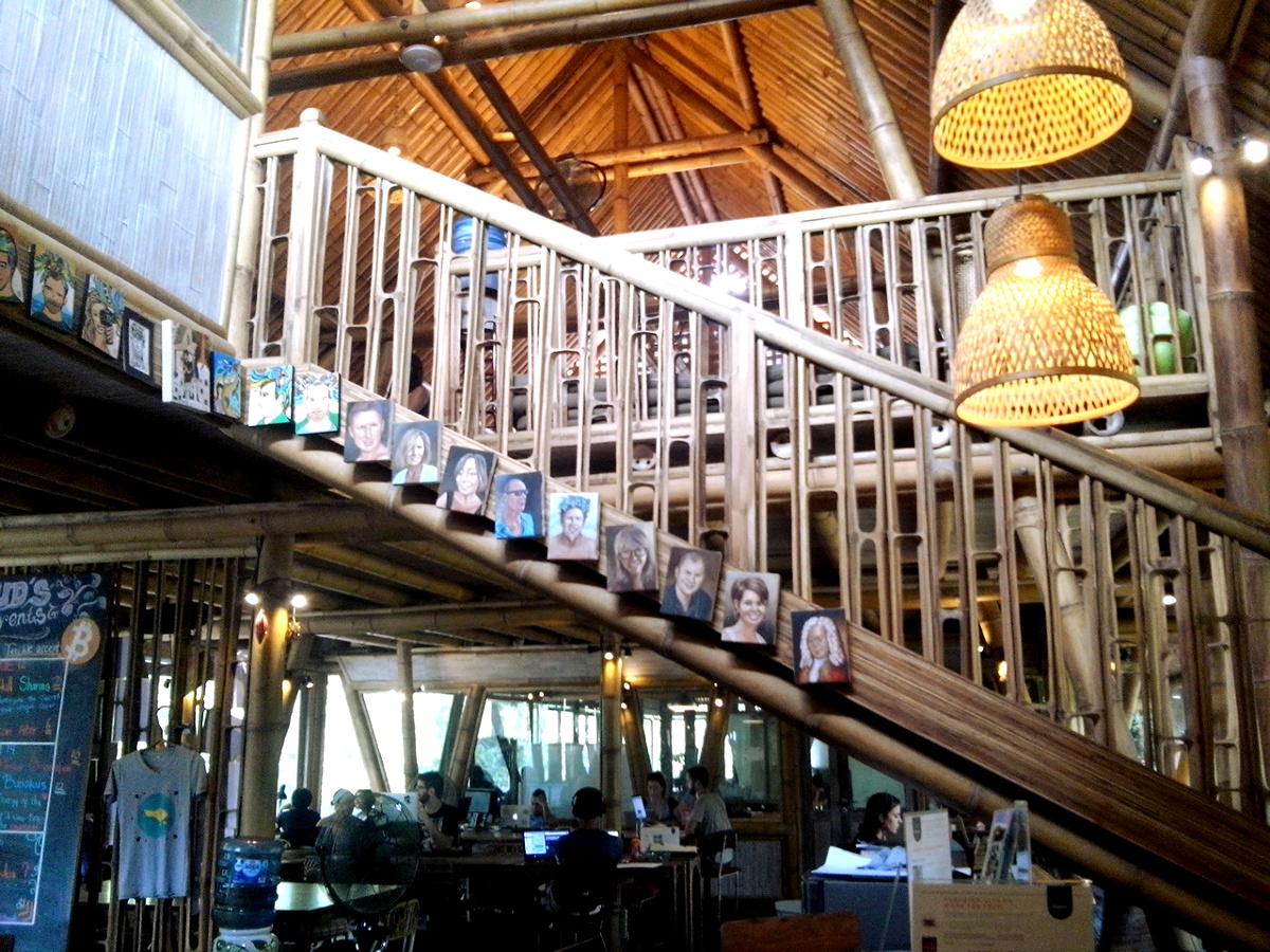 Hubud building Ubud Bali Double-Barrelled Travel