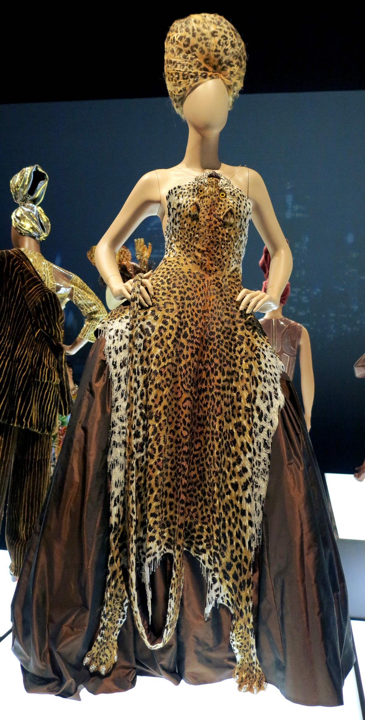Leopard dress Jean Paul Gaultier National Gallery of Victoria