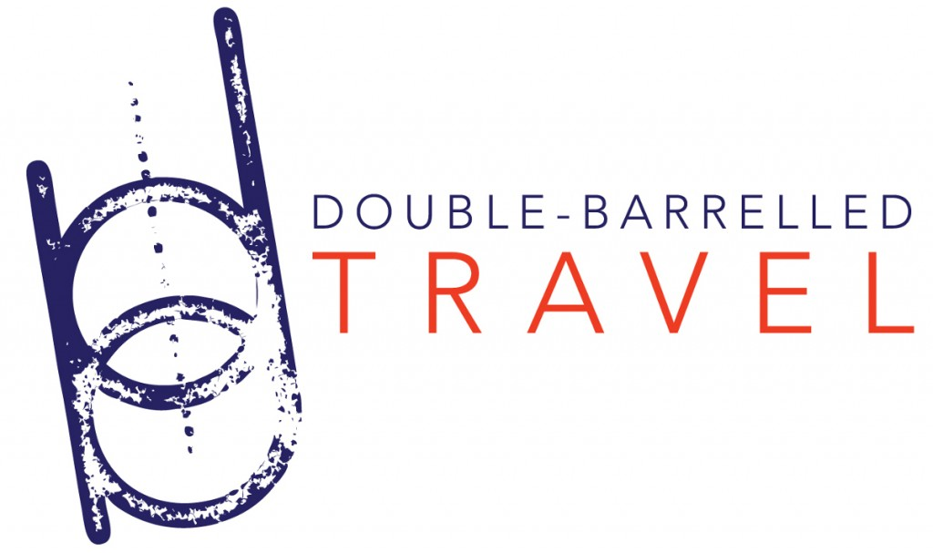 New Double-Barrelled Travel logo