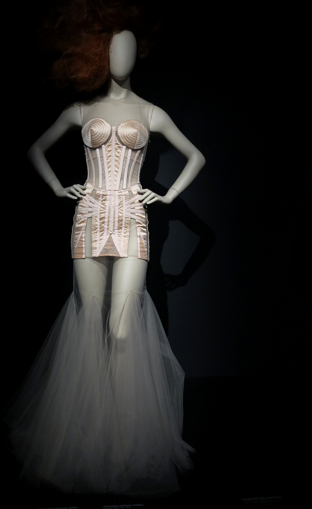 Perfume bottle dress Jean Paul Gaultier National Gallery of Victoria