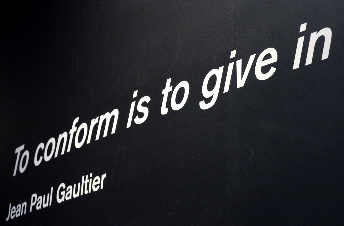 Quote Jean Paul Gaultier National Gallery of Victoria