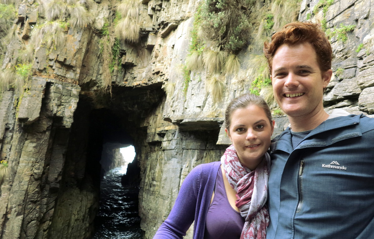 Remarkable cave Tasmania Double-Barrelled travel
