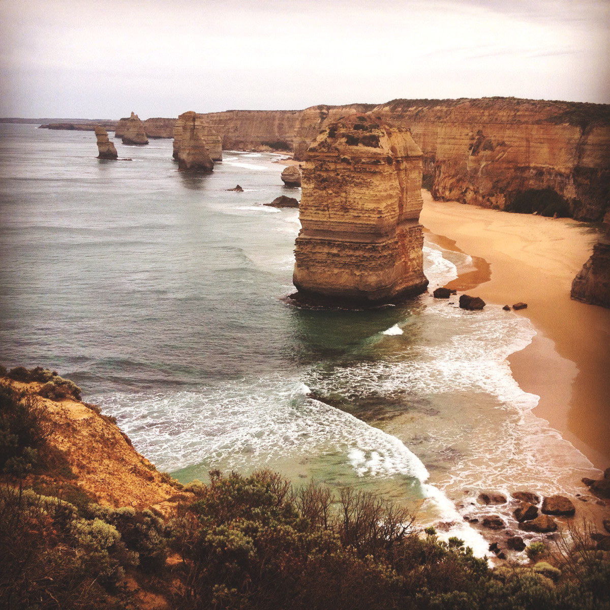 12 apostles ocean road Double-Barrelled Travel