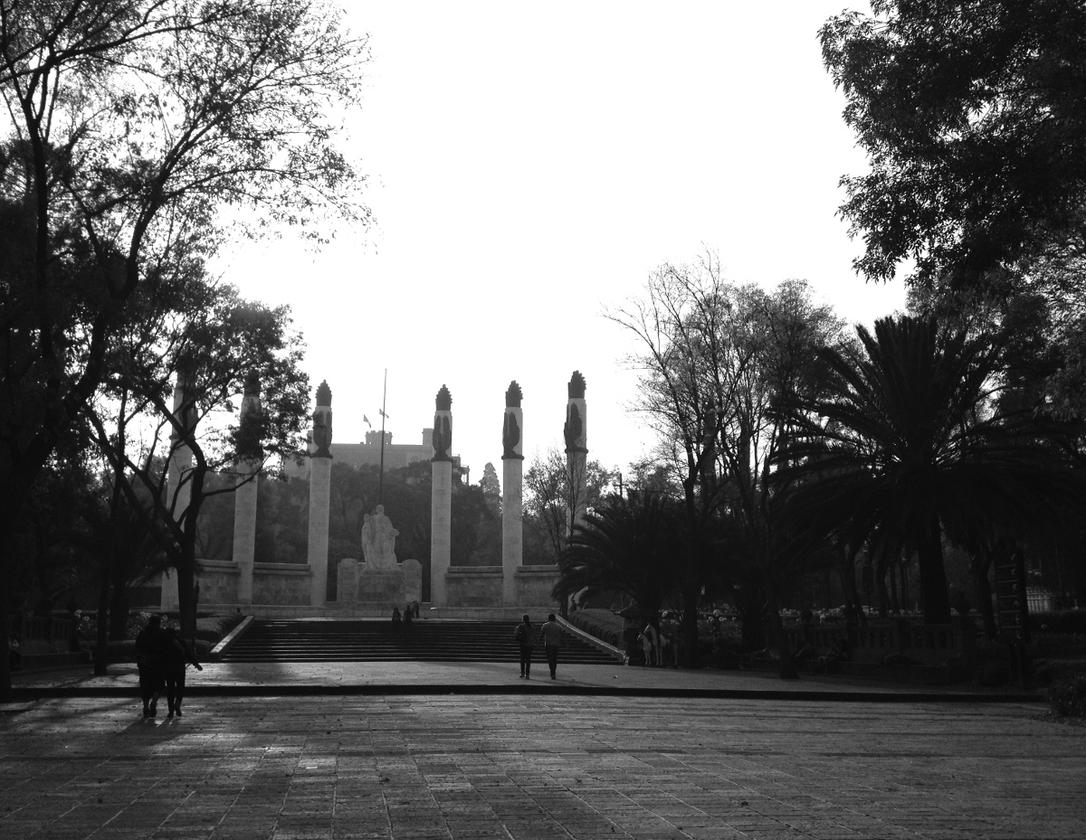 Chapultepec Park Mexico City Double-Barrelled Travel