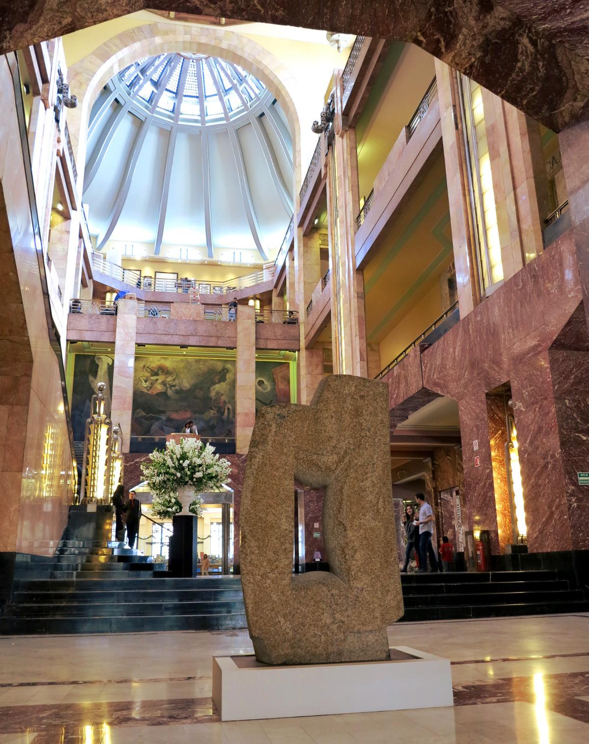 Palacio de Bellas Artes Mexico City Double-Barrelled Travel