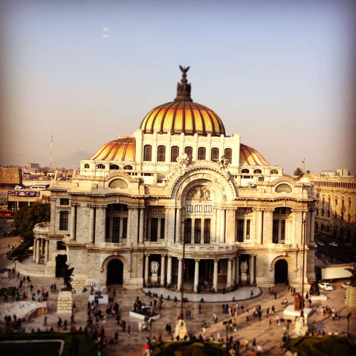 Palacio des Belles Artes Mexico City Double-Barrelled Travel