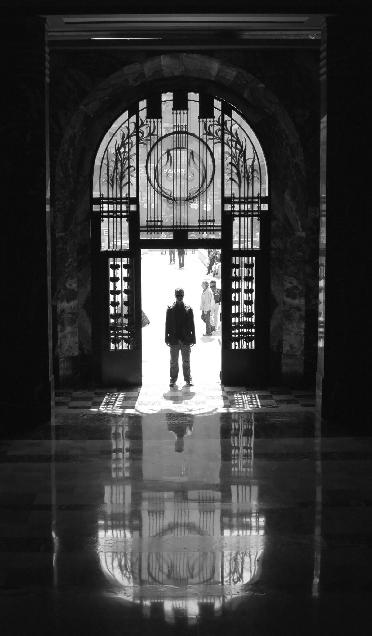 Palacio des Belles Artes entrance Mexico City Double-Barrelled Travel