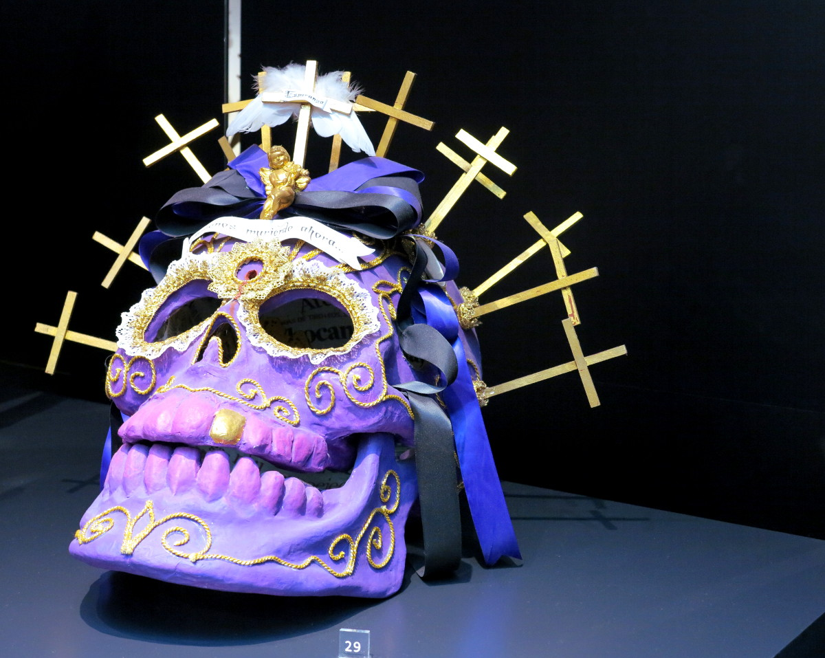 Skull art Popular Art Museum Mexico City Double-Barrelled Travel
