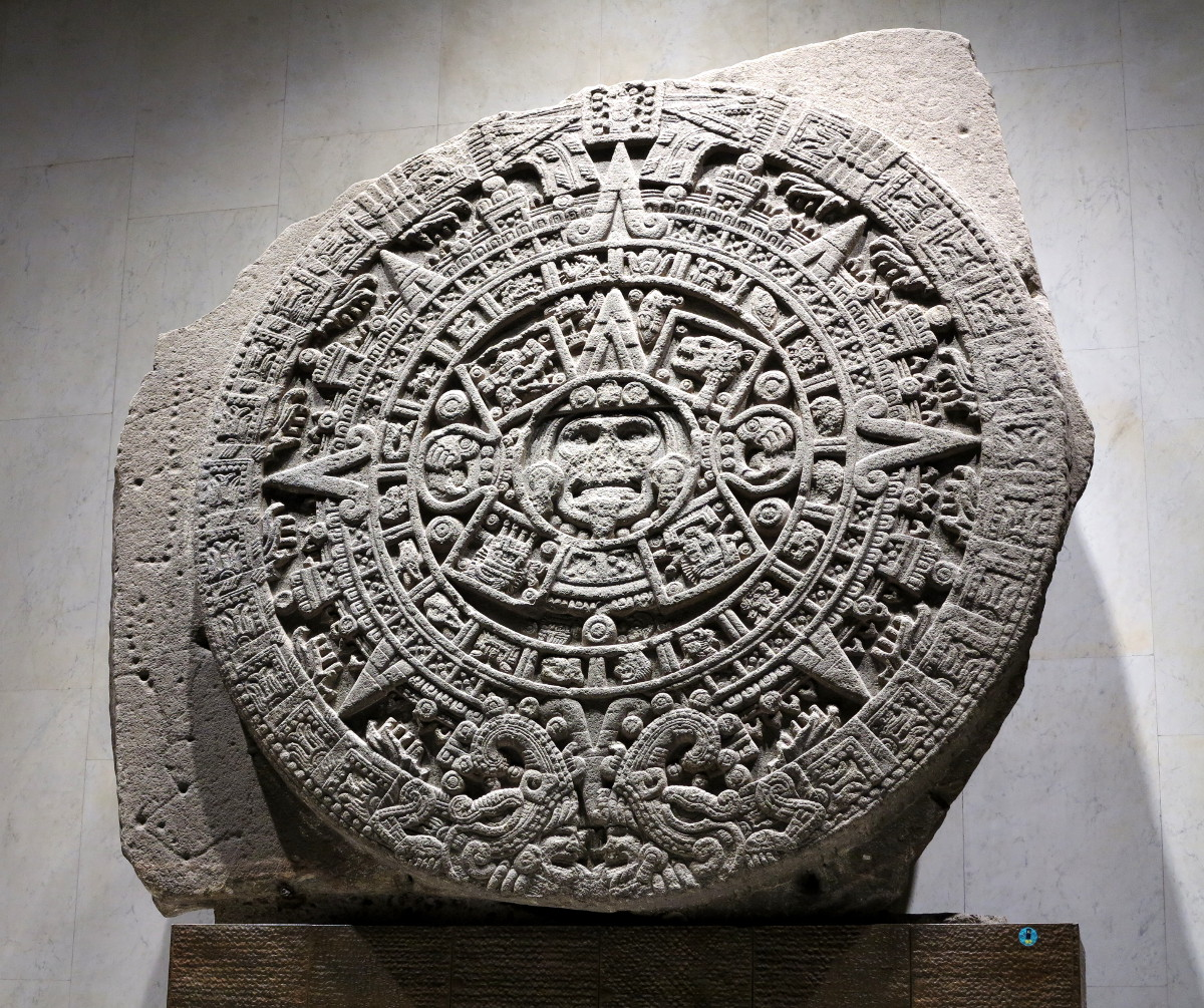 aztec calendar anthropology museum Mexico City Double-Barrelled Travel
