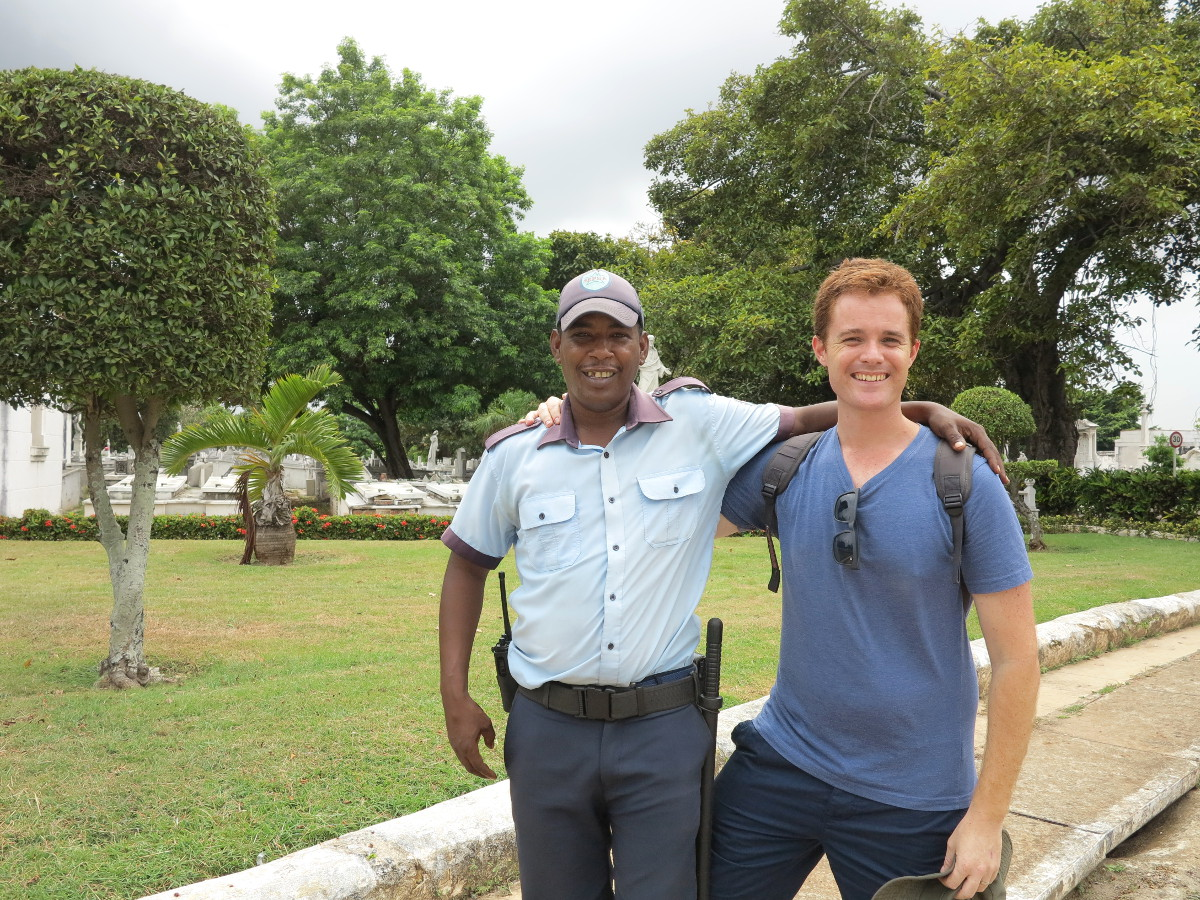 Cemetery guide Havana Cuba Double-Barrelled Travel