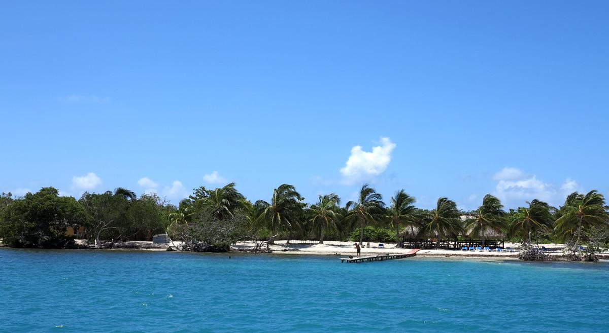 From afar Iguana Island Cuba Double-Barrelled Travel